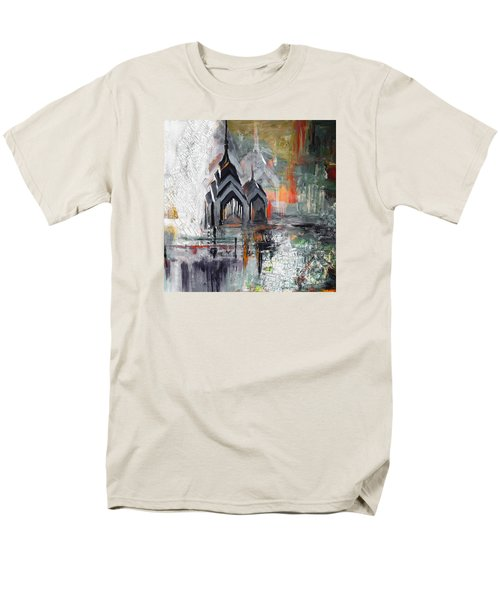 One Liberty Place And Two Liberty Place 229 3 Men's T-Shirt  (Regular Fit) by Mawra Tahreem