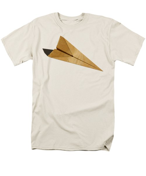 Paper Airplanes Of Wood 15 Men's T-Shirt  (Regular Fit) by YoPedro