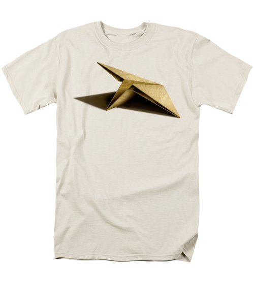 Paper Airplanes Of Wood 7 Men's T-Shirt  (Regular Fit) by YoPedro