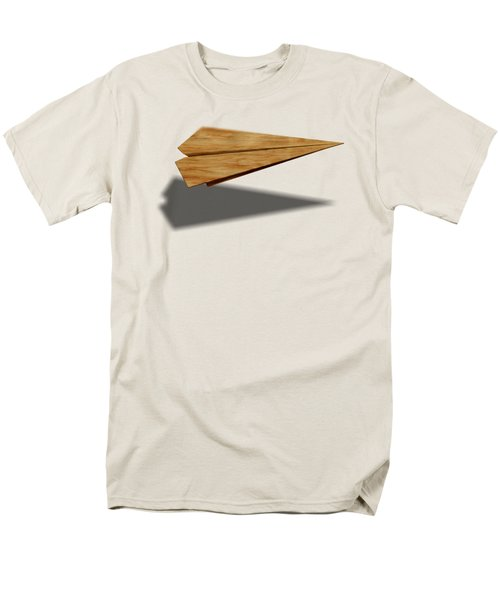 Paper Airplanes Of Wood 9 Men's T-Shirt  (Regular Fit) by YoPedro