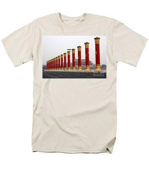 Pillars at Tiananmen Square T-Shirt by Carol Groenen