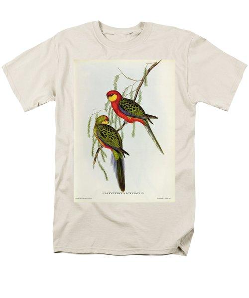 Platycercus Icterotis Men's T-Shirt  (Regular Fit) by John Gould