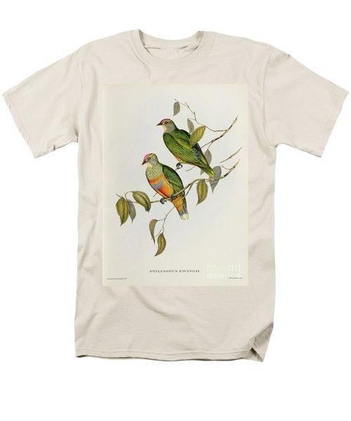 Ptilinopus Ewingii Men's T-Shirt  (Regular Fit) by John Gould
