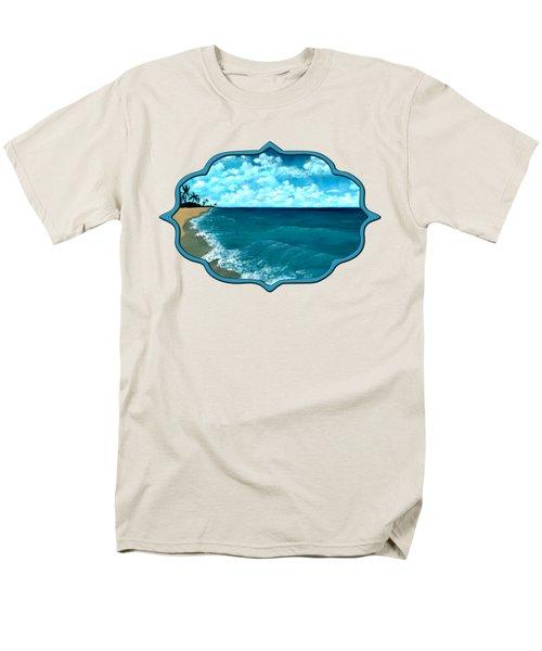 Punta Cana Beach Men's T-Shirt  (Regular Fit) by Anastasiya Malakhova