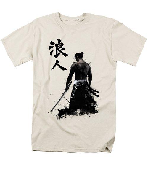Ronin Men's T-Shirt  (Regular Fit) by Nicklas Gustafsson