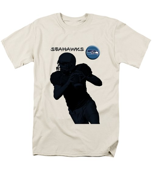 Seattle Seahawks Football Men's T-Shirt  (Regular Fit) by David Dehner