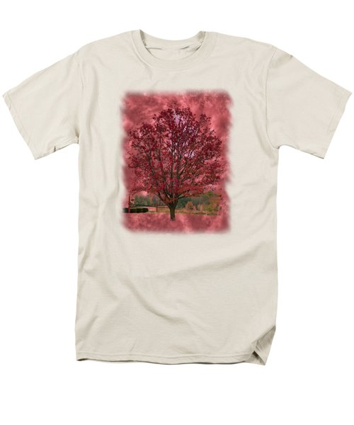 Seeing Red 2 Men's T-Shirt  (Regular Fit) by John M Bailey