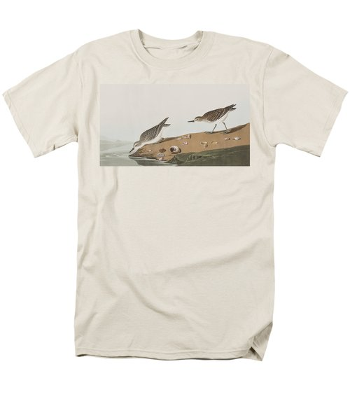 Semipalmated Sandpiper Men's T-Shirt  (Regular Fit) by John James Audubon