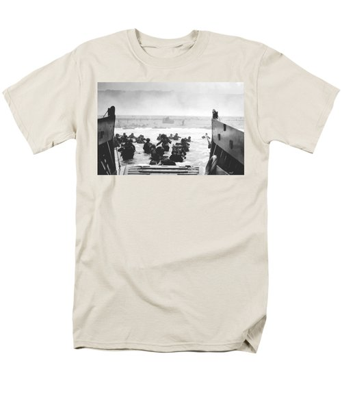 Storming The Beach On D-Day  T-Shirt by War Is Hell Store