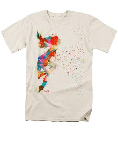 Sweet Jenny Bursting with Music T-Shirt by Nikki Smith