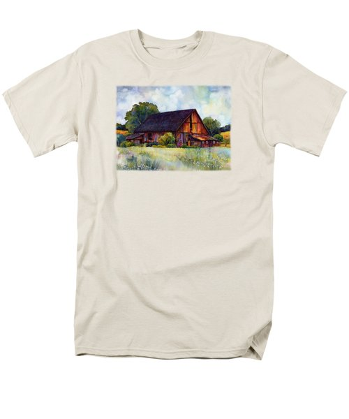 This Old Barn Men's T-Shirt  (Regular Fit) by Hailey E Herrera