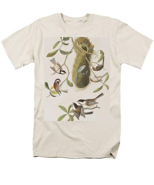 Titmouses Men's T-Shirt  (Regular Fit) by John James Audubon