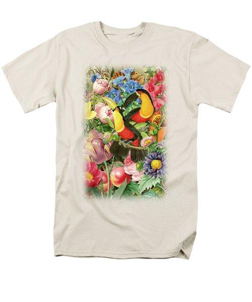 Toucans Men's T-Shirt  (Regular Fit) by Gary Grayson
