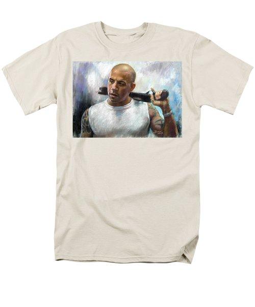Vin Diesel T-Shirt by Ylli Haruni