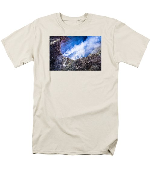Men's T-Shirt  (Regular Fit) featuring the photograph Volcano by M G Whittingham