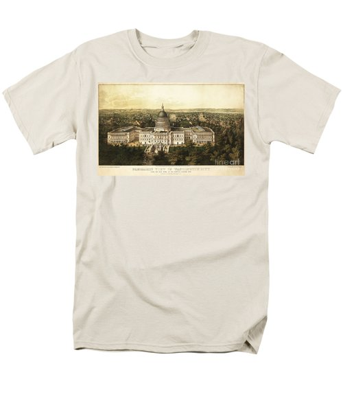 Washington City 1857 Men's T-Shirt  (Regular Fit) by Jon Neidert