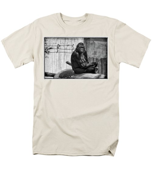 Watercolor Gorilla T-Shirt by Joan Carroll