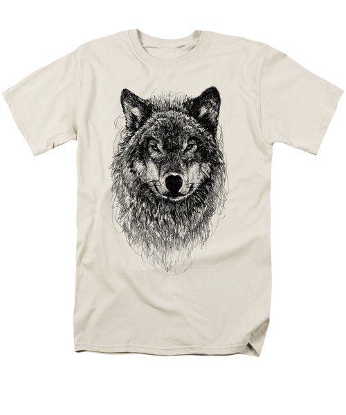 Wolf Men's T-Shirt  (Regular Fit) by Michael  Volpicelli