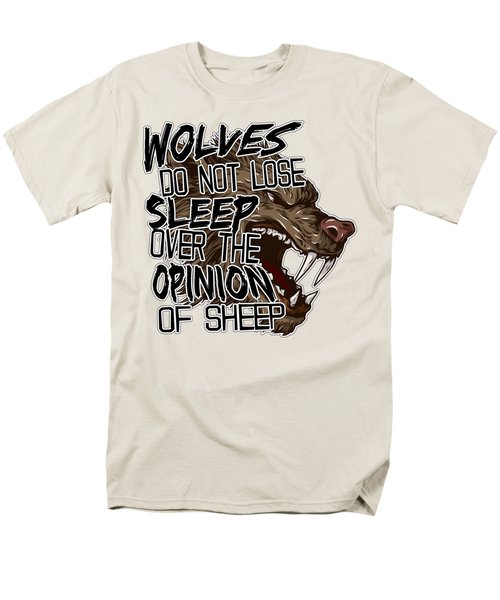 Wolves And Sheep Men's T-Shirt  (Regular Fit) by Michelle Murphy