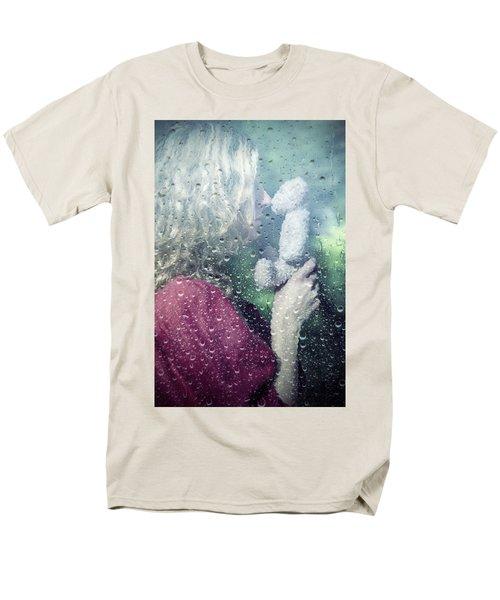 woman and teddy T-Shirt by Joana Kruse