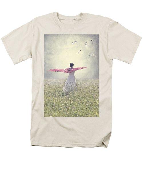 woman on a lawn T-Shirt by Joana Kruse