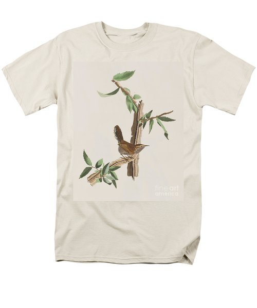 Wren Men's T-Shirt  (Regular Fit) by John James Audubon