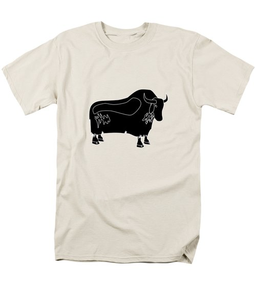 Yak Men's T-Shirt  (Regular Fit) by Frederick Holiday