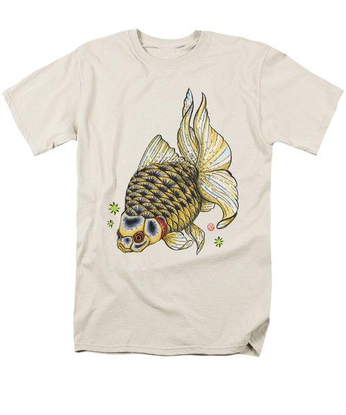 Yellow Ryukin Men's T-Shirt  (Regular Fit) by Shih Chang Yang
