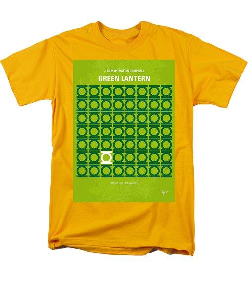 No120 My GREEN LANTERN minimal movie poster T-Shirt by Chungkong Art
