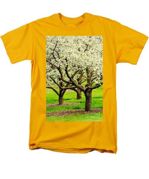 Apple Blossoms Men's T-Shirt  (Regular Fit) by Joe Mamer