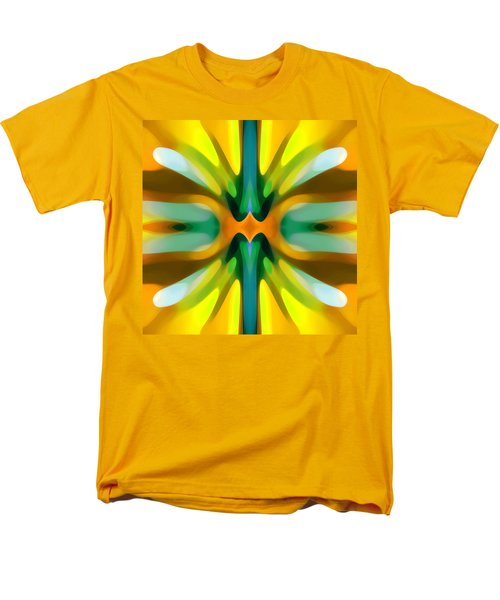 Abstract YellowTree Symmetry T-Shirt by Amy Vangsgard