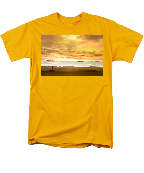 Chicken Farm Sunset 2 T-Shirt by James BO  Insogna