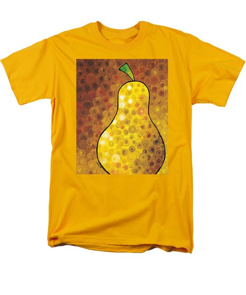 Golden Pear T-Shirt by Sharon Cummings
