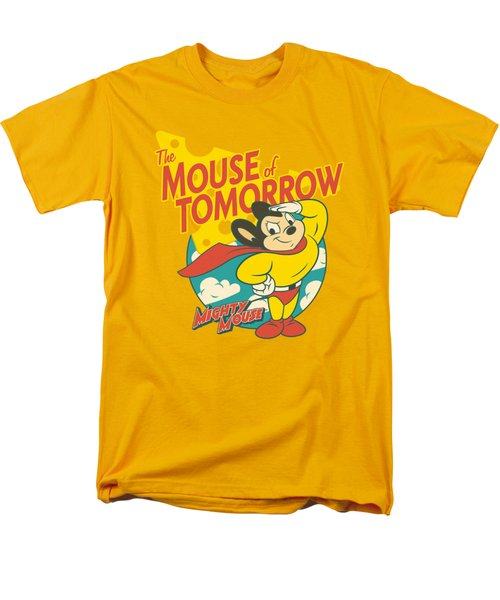 Mighty Mouse - Mouse Of Tomorrow Men's T-Shirt  (Regular Fit) by Brand A