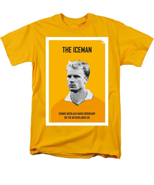 My Bergkamp Soccer Legend Poster Men's T-Shirt  (Regular Fit) by Chungkong Art