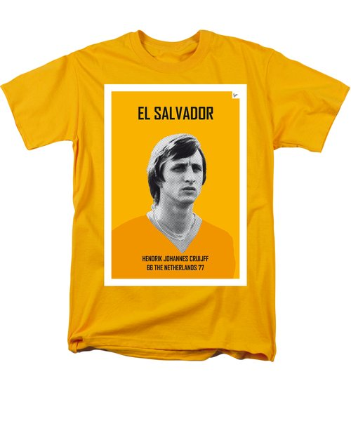 My Cruijff Soccer Legend Poster Men's T-Shirt  (Regular Fit) by Chungkong Art