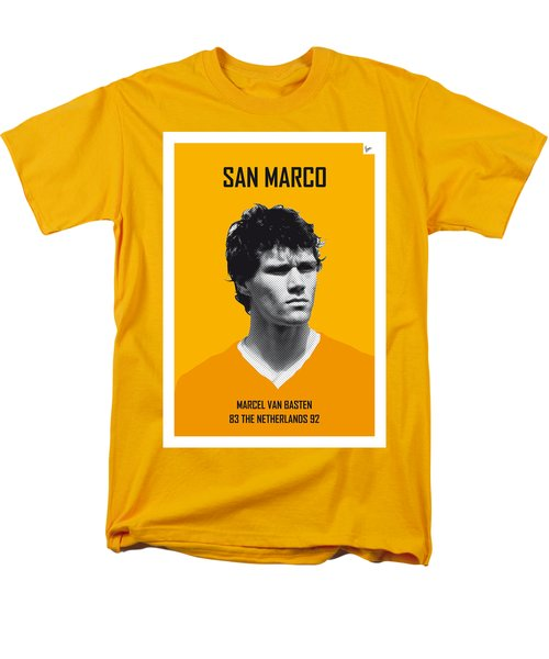 My Van Basten Soccer Legend Poster Men's T-Shirt  (Regular Fit) by Chungkong Art