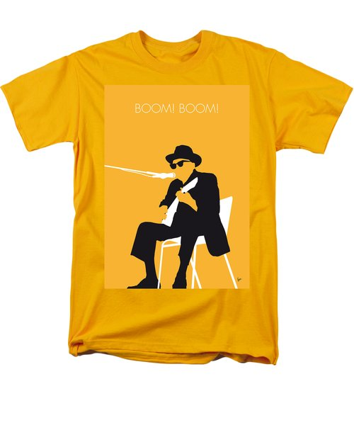 No054 My Johnny Lee Hooker Minimal Music Poster Men's T-Shirt  (Regular Fit) by Chungkong Art