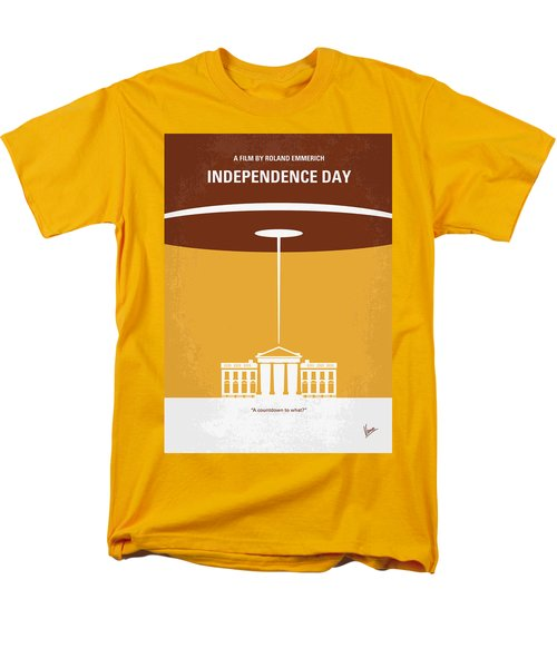 No249 My INDEPENDENCE DAY minimal movie poster T-Shirt by Chungkong Art