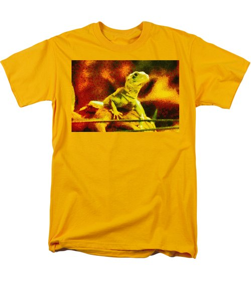 Queen of the Reptiles T-Shirt by Ayse Deniz