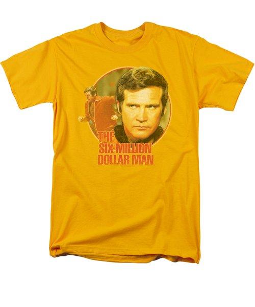 Six Million Dollar Man - Run Faster Men's T-Shirt  (Regular Fit) by Brand A