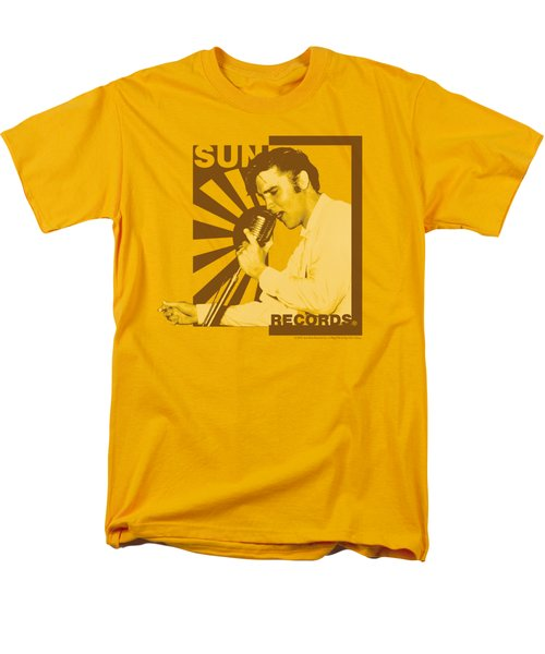 Sun - Sun Records Slvis On The Mic Men's T-Shirt  (Regular Fit) by Brand A