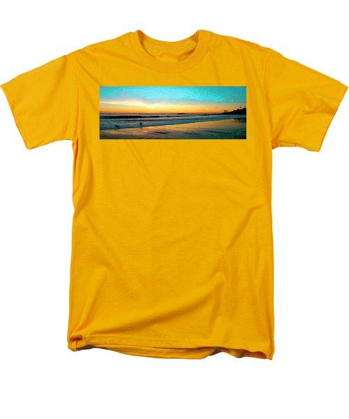 Sunset With Birds T-Shirt by Ben and Raisa Gertsberg