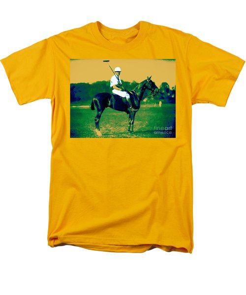 The Polo Player - 20130208 T-Shirt by Wingsdomain Art and Photography