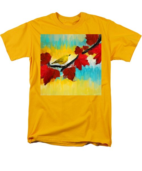 Vividness Men's T-Shirt  (Regular Fit) by Lourry Legarde