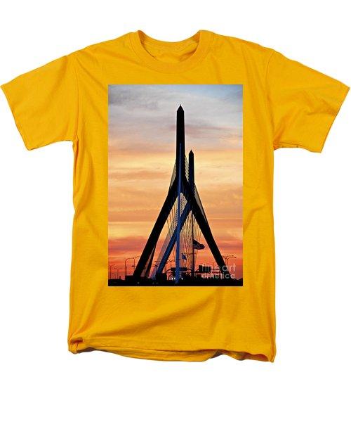 Zakim bridge in Boston T-Shirt by Elena Elisseeva