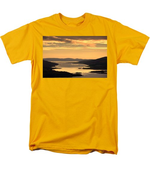 Sunset Over Water, Argyll And Bute T-Shirt by John Short