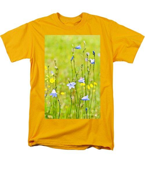 Blue harebells wildflowers T-Shirt by Elena Elisseeva