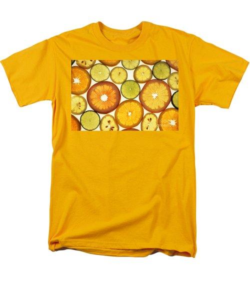 Citrus Slices Men's T-Shirt  (Regular Fit) by Photo Researchers