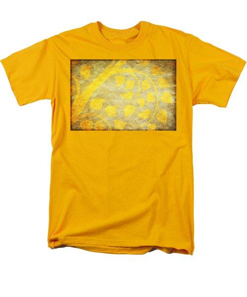 golden tree pattern on paper T-Shirt by Setsiri Silapasuwanchai